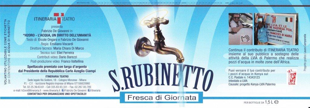 S. Rubinetto - Fresca di giornata