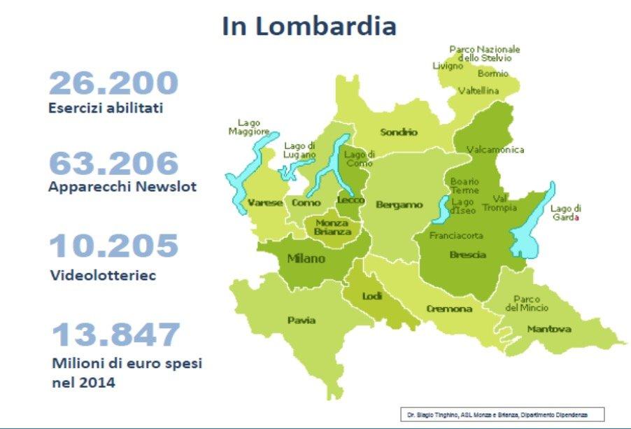 azzardo Lombardia