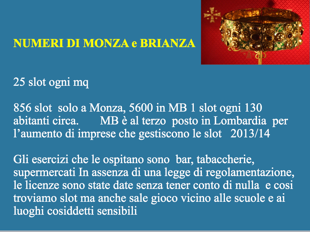 Slot a Monza e Brianza